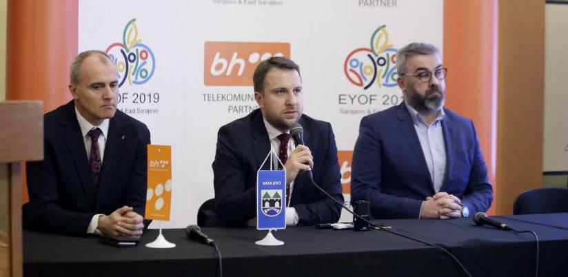 BH Telecom zvanični zlatni sponzor EYOF-a 2019