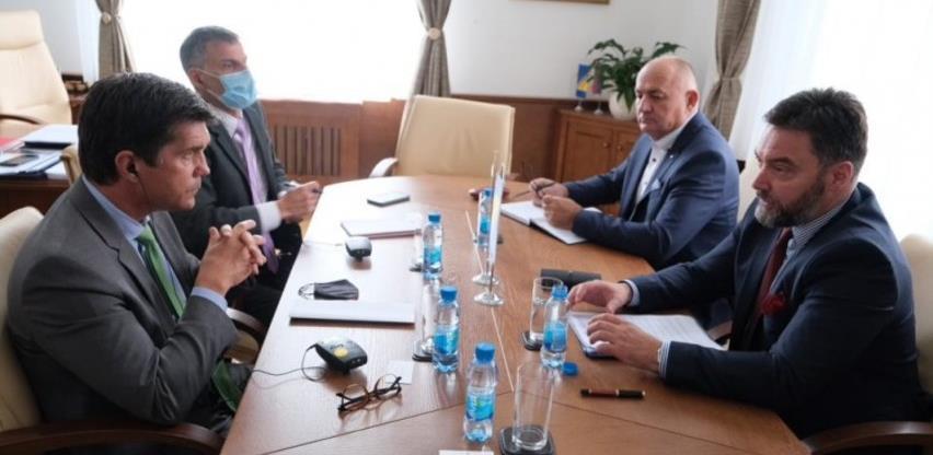 Košarac - Nelson: Unaprijediti ekonomsku saradnju BiH i SAD-a