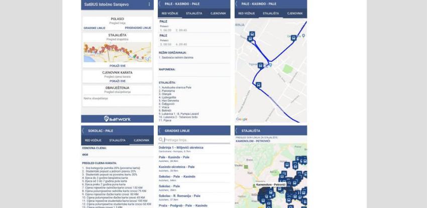 Predstavljena aplikacija SatBUS: Istočno Sarajevo u projektu pametnog prevoza