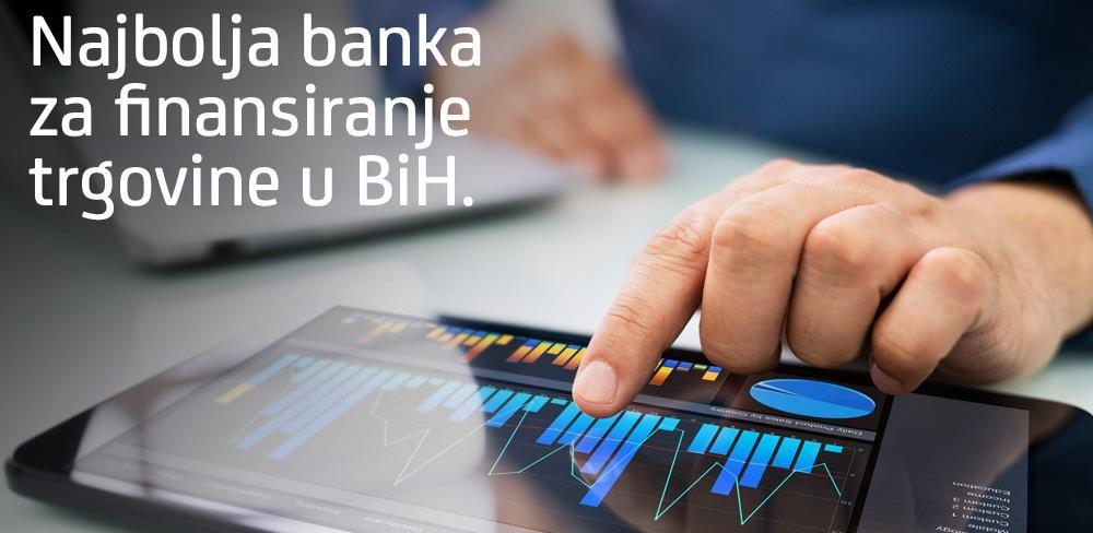 Sedmu godinu zaredom: UniCredit Bank najbolja banka za finansiranje trgovine u BiH