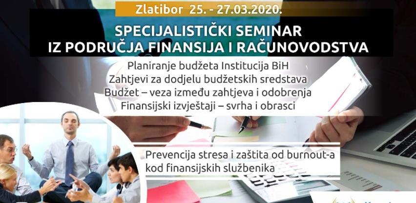 Specijalistički seminar iz područja finansija i računovodstva