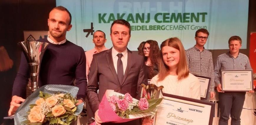 Amel Tuka i Elvedina Muzaferija najbolji sportisti ZDK u 2019.