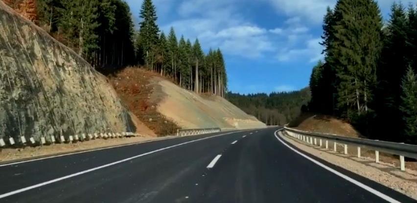 Otvorena treća traka magistralne ceste preko Karaule