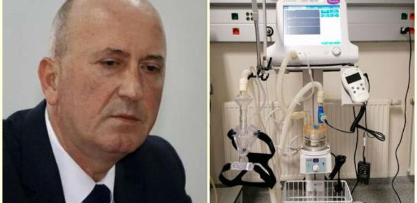 Direktor UKC Tuzla: Aparati koje smo dobili od Violete nisu respiratori