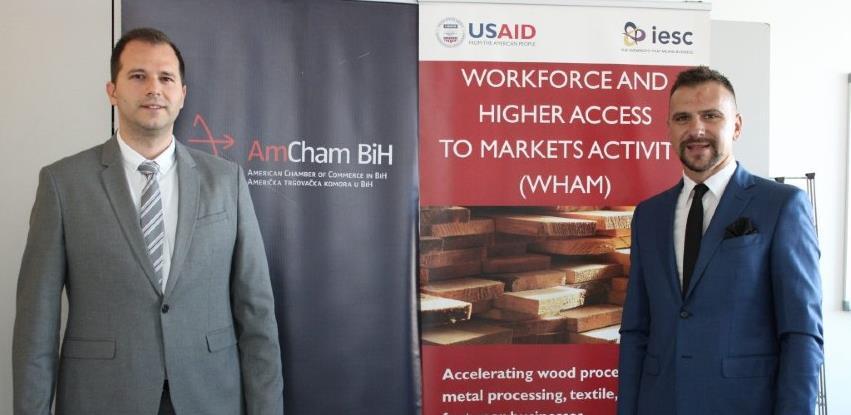 AmCham BiH i SYS Company ozvaničili saradnju u sklopu USAID WHAM projekta