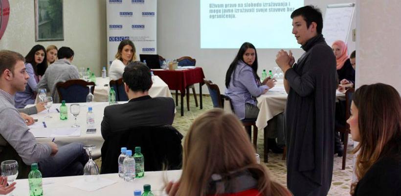 OSCE održao radionicu o medijskoj pismenosti za sarajevske studente