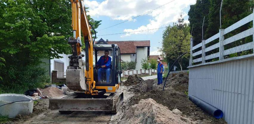 U toku izgradnja kanalizacione mreže u Mjesnoj zajednici Oskova