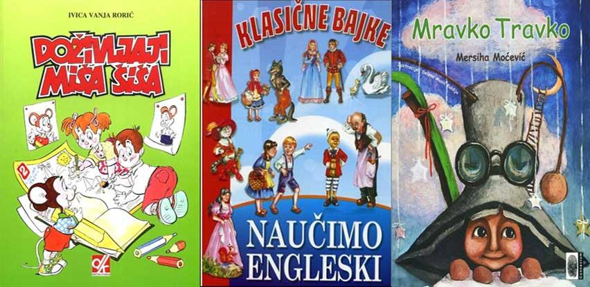 Knjiga.ba: Nove knjige za vaše najmlađe