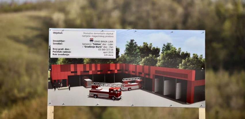 Počela izgradnja magacina za potrebe civilne zaštite i vatrogasne brigade