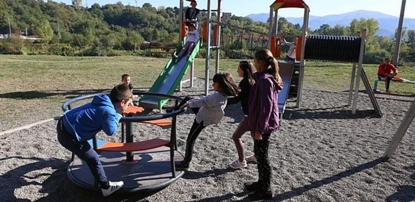 Grad Zenica uložio oko pola miliona KM u rekonstrukciju dječijih igrališta