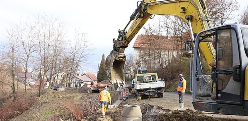Grad Zenica nastavlja s realiziranjem projekta izgradnje fekalne kanalizacije