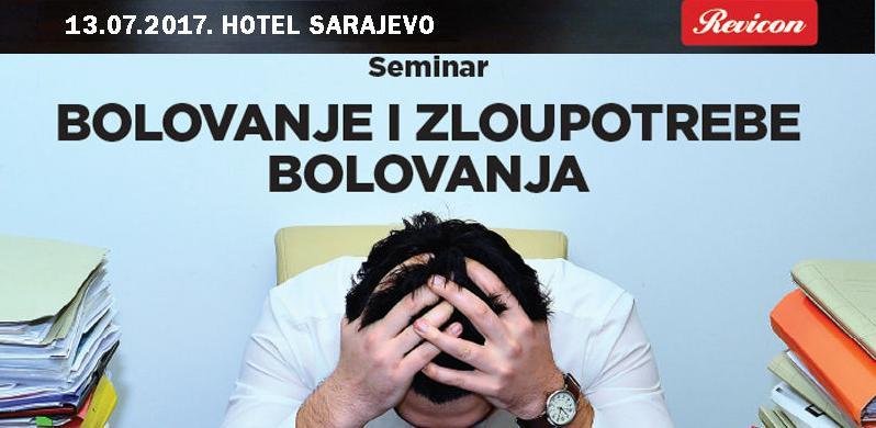 Seminar: Bolovanje i zloupotrebe bolovanja