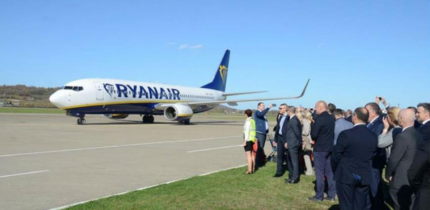 "Poletio prvi avion ""Ryanaira"" iz Banjaluke do Frankfurt Hana"