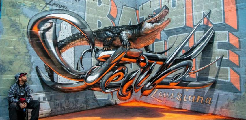 Hiperrealistični grafiti koji će vas oduševiti