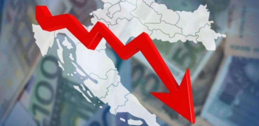 Hrvatsku očekuje pad BDP od 11 odsto, najbolje prolazi Srbija