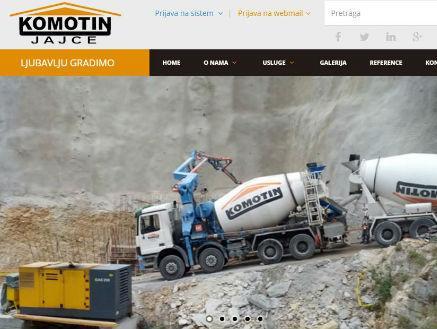 Kompanija Komotin vlastitim sredstvima gradi objekat od 950m2