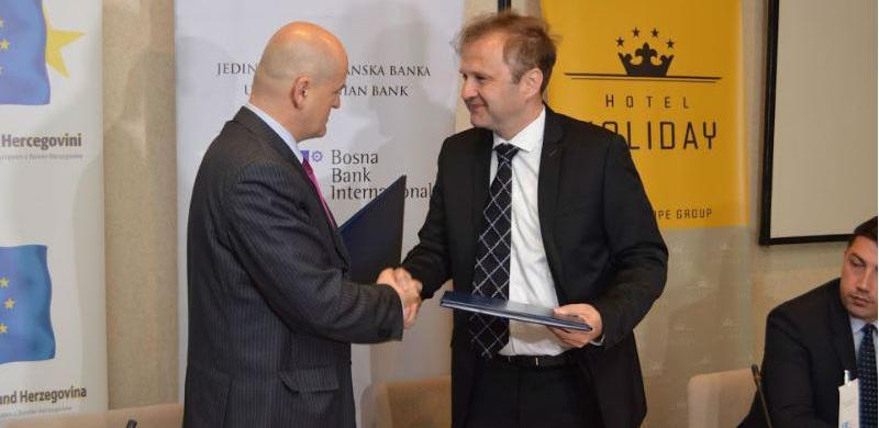 Evropski pokret u BiH i BBI banka kreiraju bolji poslovni ambijent
