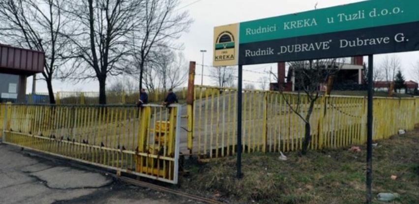 """Rudnik """"Kreka"""" Tuzla: Najavljeni štrajk neće biti održan"""