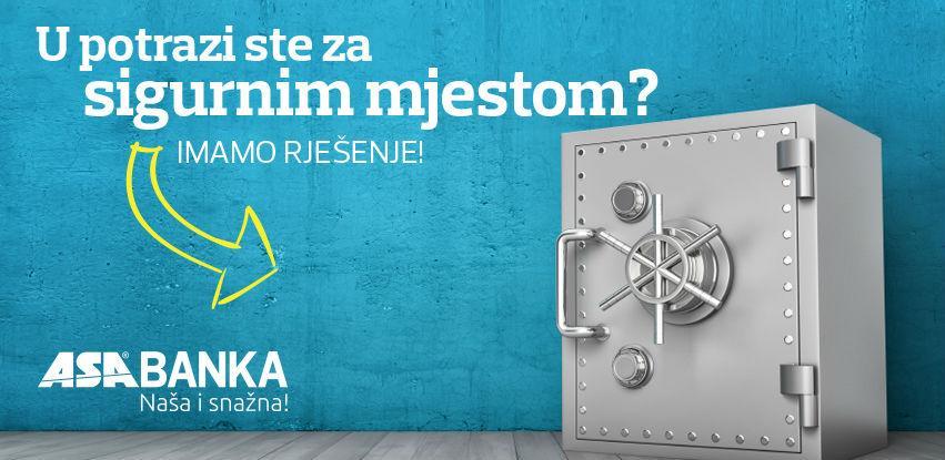Zakupite sefove u ASA Banci, osigurane najvišim sigurnosnim standardima