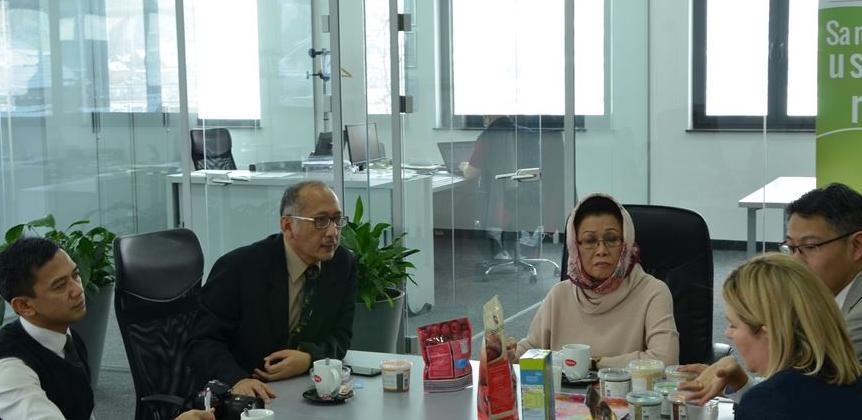 Firmu Delta trade posjetila ambasadorica Republike Indonezije