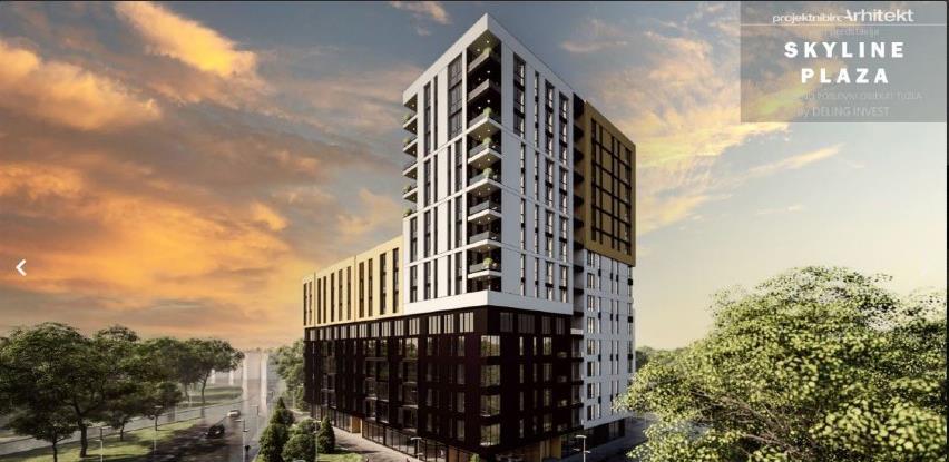 Tuzla dobija novi stambeni kompleks - Skyline Plaza
