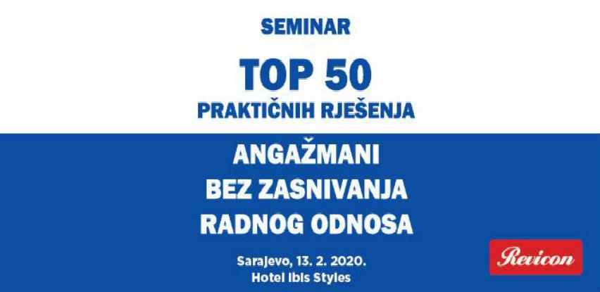 Revicon seminar: Angažmani bez zasnivanja radnog odnosa
