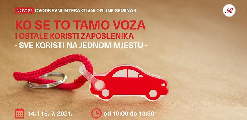 Revicon organizira dvodnevni seminar: Ko se to tamo voza