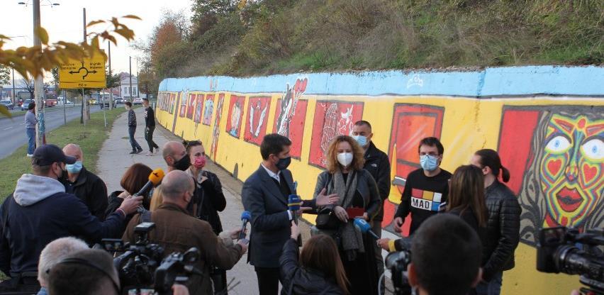 """Glavni grad Bosne i Hercegovine bogatiji za novi mural """"Our Future"""""""