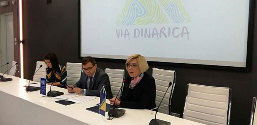 Za podršku projektu 'Via Dinarica' 100.000 KM