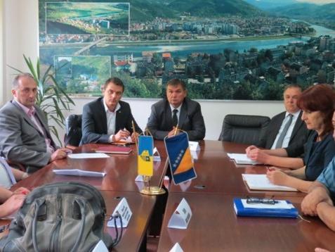 Hadžić u Goraždu: Stvaraćemo uslove za poboljšanje prometne infrastrukture