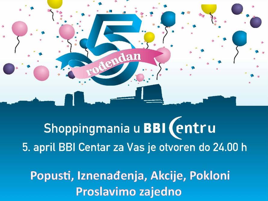 BBI Centar i Grad Sarajevo organizuju zajedničku proslavu rođendana