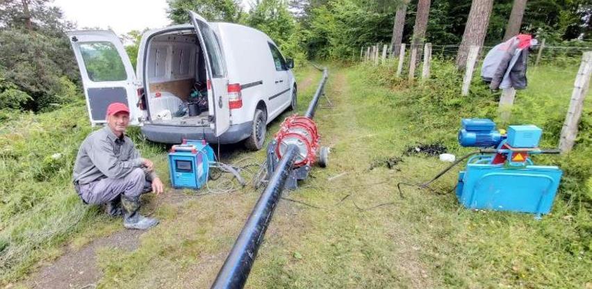 U poslovnoj zoni Sadnice počela izgradnja vodovodne mreže