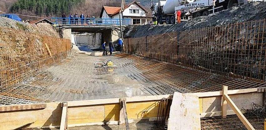 Betonirano korito Starinske rijeke u Topčić Polju, radovi vrijedni 116.766,00 KM