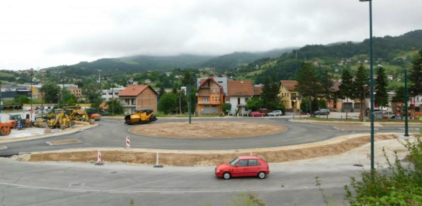 U završnoj fazi izgradnja kružnog toka u Vogošći