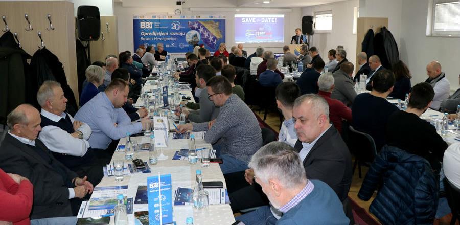 SBF prilika za predstavljanje investicijskih projekata Mostara i Hercegovine