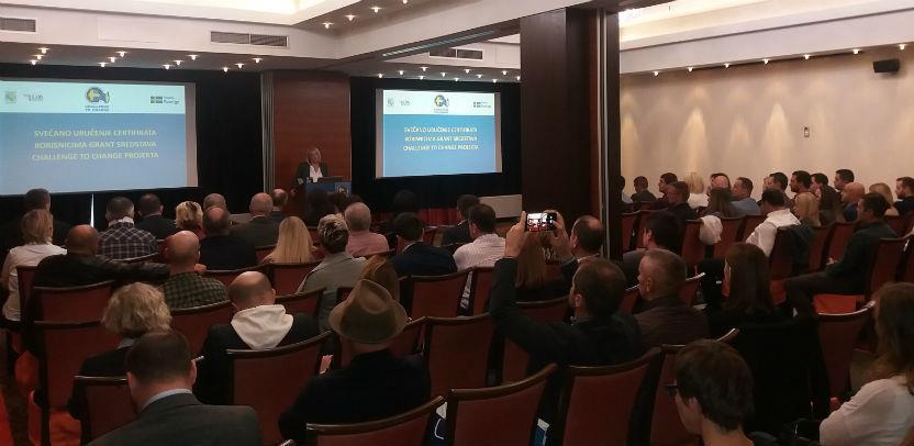 Challenge to Change: Grant sredstva od milion eura dobilo 47 korisnika u BiH