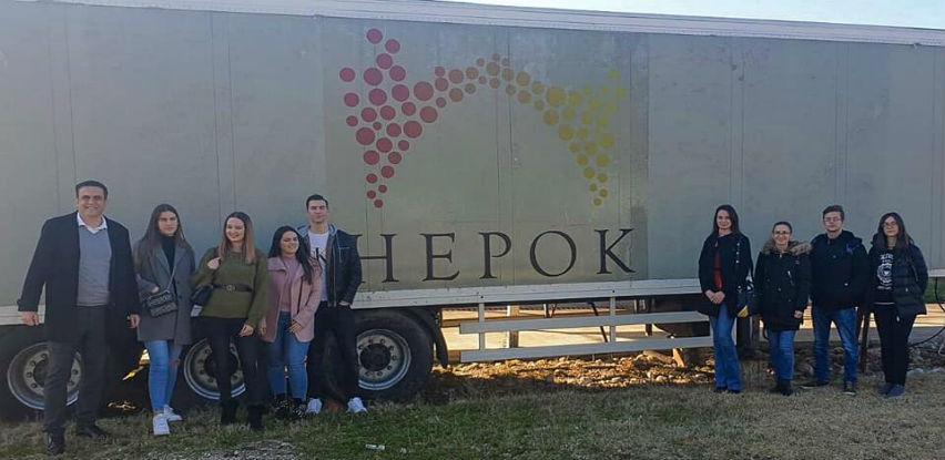 Mostarski studenti turizma posjetili Hepok