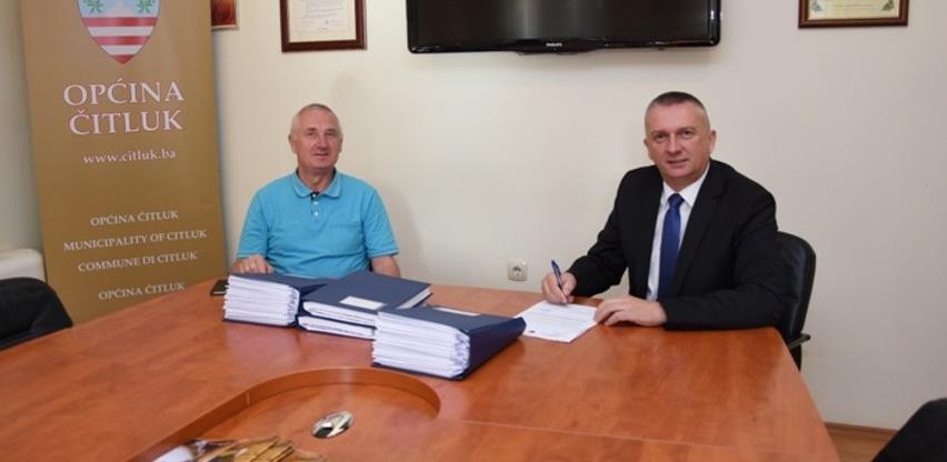 Općina Čitluk prva u HNŽ dobila digitalni katastarski plan vodne infrastrukture