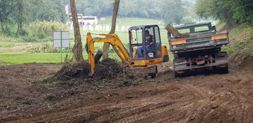 """Počela izgradnja šestougaone konferencijske dvorane u parku """"Ravne 2"""""""