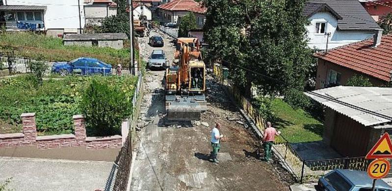 Počeli radovi na rekonstrukciji Štrosmajerove ulice