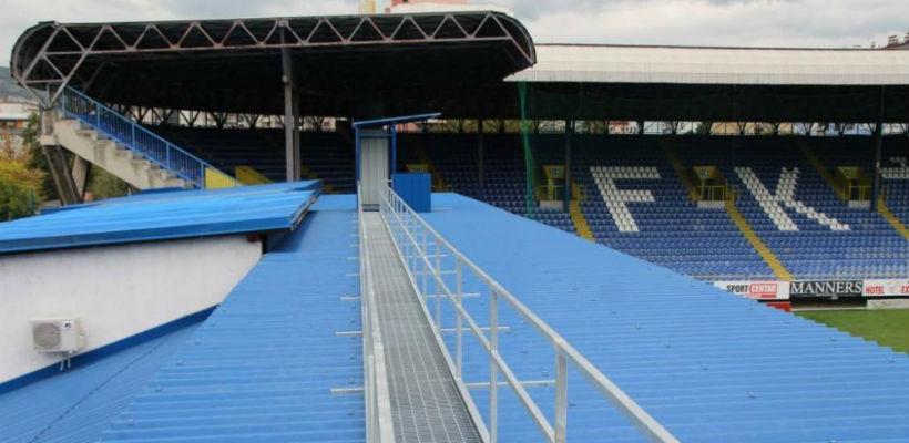 Dio radova na stadionu Grbavica privodi se kraju