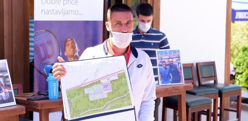Džumhuru uručeno pismo namjere i idejni projekat teniskog centra na Betaniji
