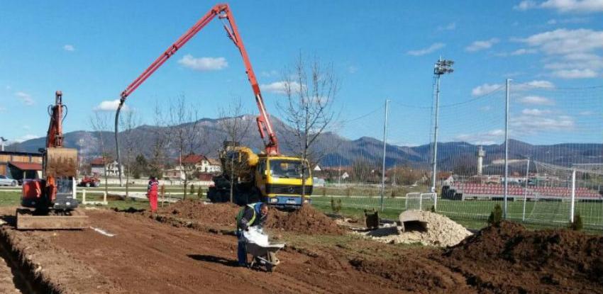 Počeli radovi u Trening Centru FK Sarajevo
