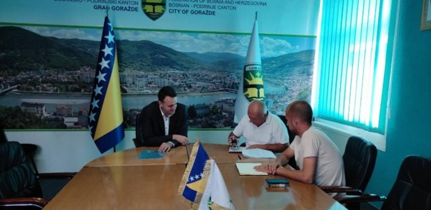 Za rekonstrukciju potisnog cjevovoda Vitkovići – Goražde 460.000 KM