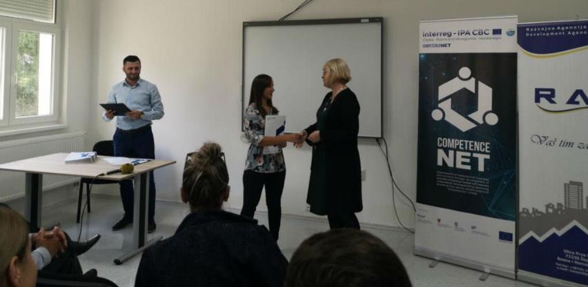 18 polaznika uspješno završilo prve obuke u sklopu projekta 'competenceNET'