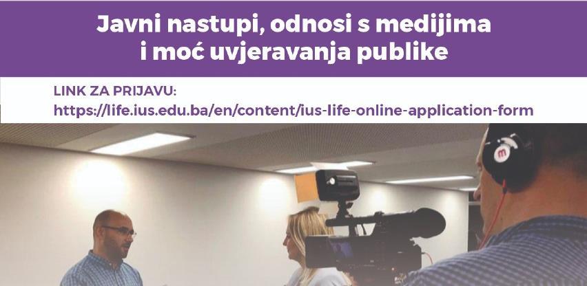 IUS: Javni nastupi, odnosi s medijima i moć uvjeravanja publike