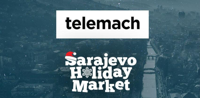 Telemach telekomunikacijski partner Sarajevo Holiday Marketa​