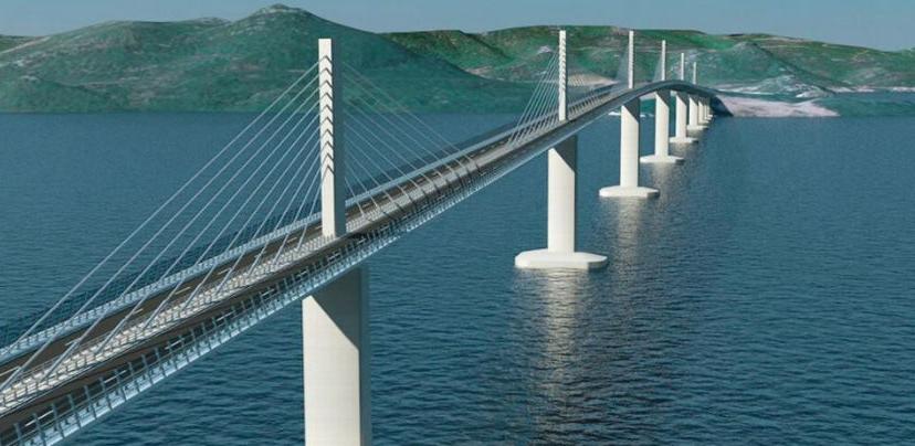 Odbijene sve žalbe, izgradnja Pelješkog mosta može da počne