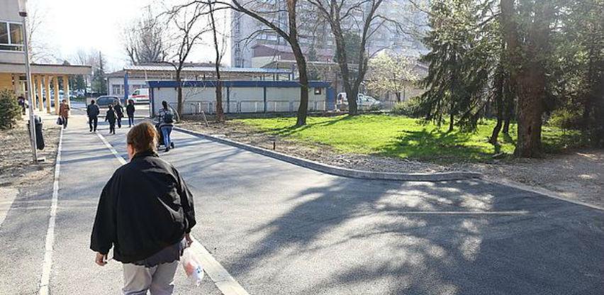 Uskoro nastavak projekta uređenja platoa ispred Doma zdravlja Zenica