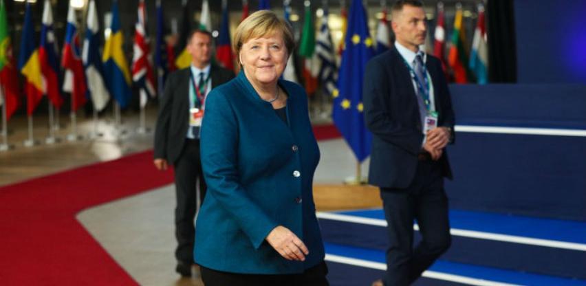 """Merkel: Njemačka će raditi """"do posljednjeg trena""""protiv Brexita bez sporazuma"""
